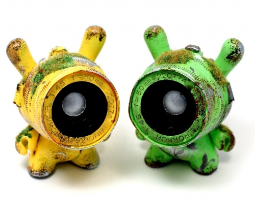 """Keep an Eye on the Sky"" custom Dunnys"