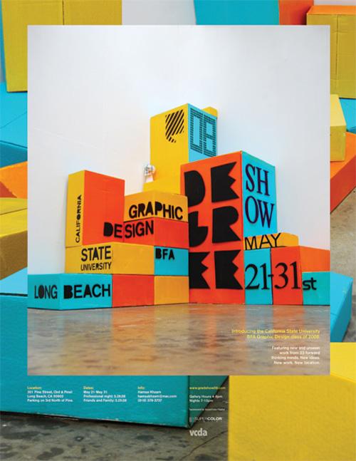Evan Geltosky: Grad Show Poster