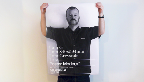 Graphical House: Poster Modern