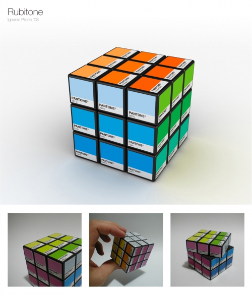 Ignacio Pilotto: Rubitone — Rubik + Pantone